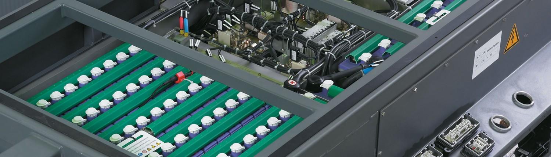 accumulatori industriali, batterie industriali