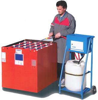 assistenza e manutenzione batterie industriali